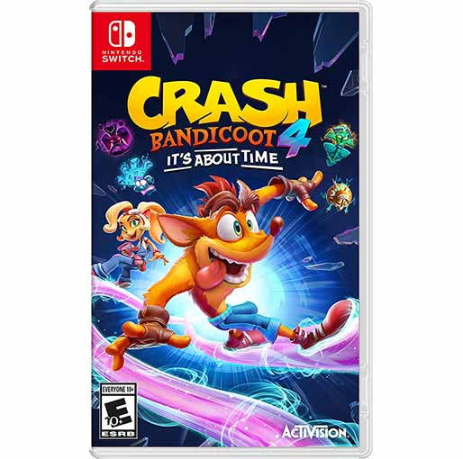 Buy Crash 4: It's About Time - Nintendo Switch at best price in Qatar.