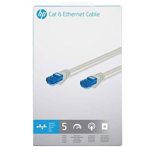 HP CAT 6 Network Cable 5.0m