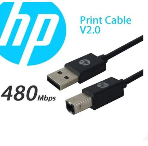 HP Cable Printer USB-B to USB-A v2.0 1.5m - Black