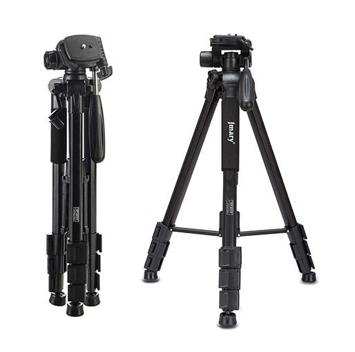 Jmary KP-2254 Professional Aluminium Tripod Monopod for All DSLR Cameras