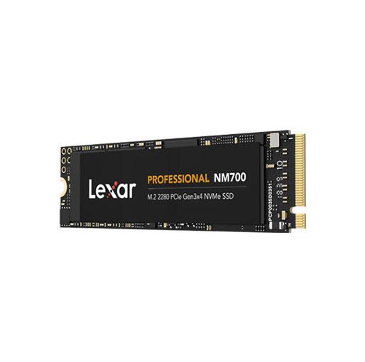 Lexar Professional NM700 M.2 2280 PCIe NVMe 512GB SSD, Gaming, Up To 3500MB/s (LNM700-512RB)
