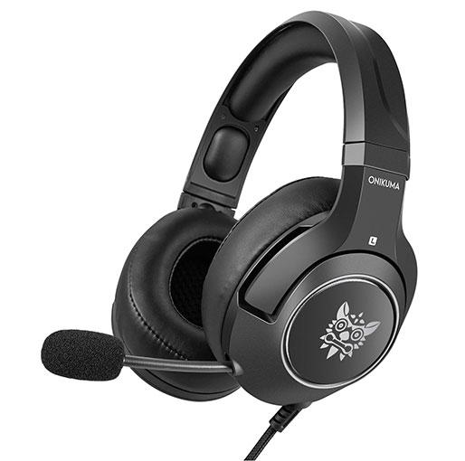 Onikuma K9 Retractable Mic Gaming Headset