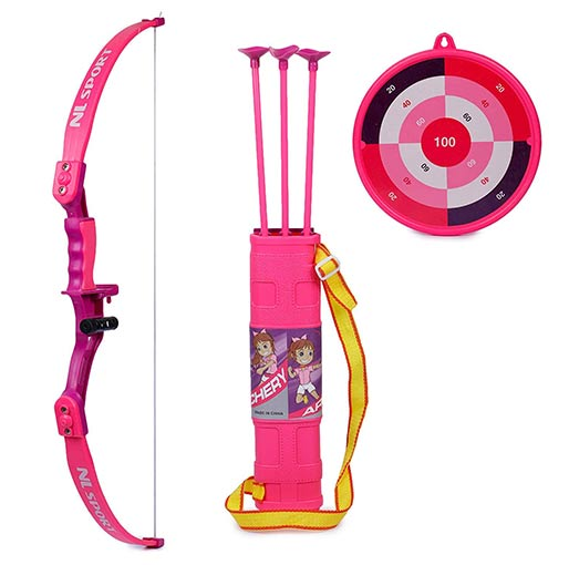 Buy Archery Bow and Arrow Set with Target Board for Kids at best price in Qatar.