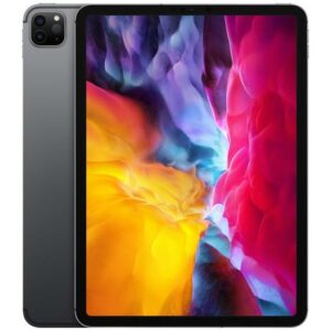 """Buy Apple 11"""" iPad Pro (Early 2020, 256GB, Wi-Fi + 4G LTE, Space Gray) at best price in Qatar."""