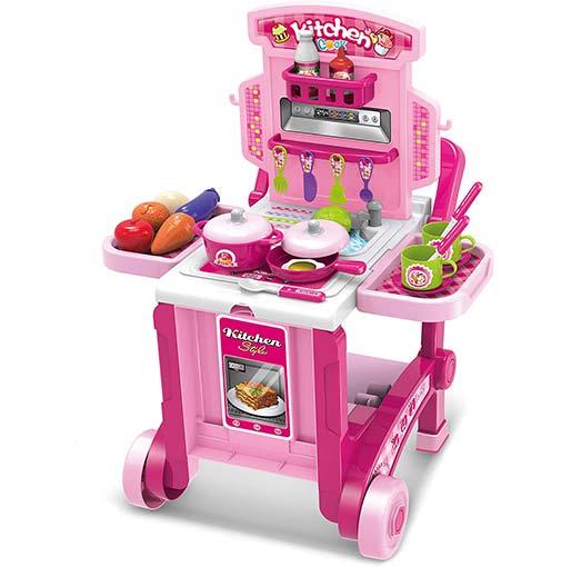 Buy 3 In 1 Little Chef Kitchen Set - 008-927 at best price in Qatar.