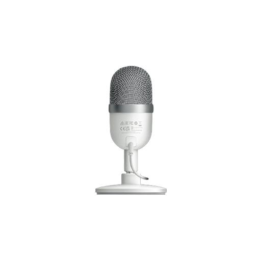 Buy Razer Seiren Condenser Microphone, Ultra-Compact Design, Gaming Microphone - Mercury White at best price in Qatar.