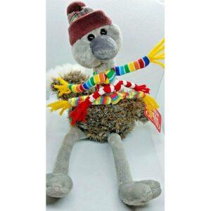 Buy Ostrich Brrrdy Plush Animal Toy 3 Striped Scarves w/Tag at best price in Qatar.