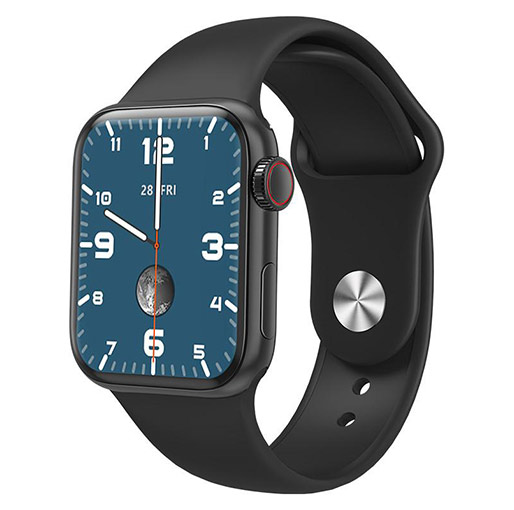 Buy HW12 Smart Watch Full Screen Bluetooth Call Music Smart Bracelet For Android IOS at best price in Qatar.