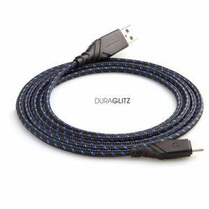 Energea Duraglitz Type C Cable 1.5m - Blue