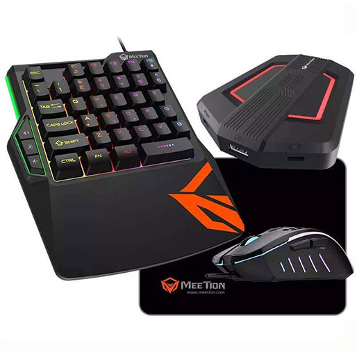 Meetion Gaming Kit Console Keyboard Mouse Converter CO015