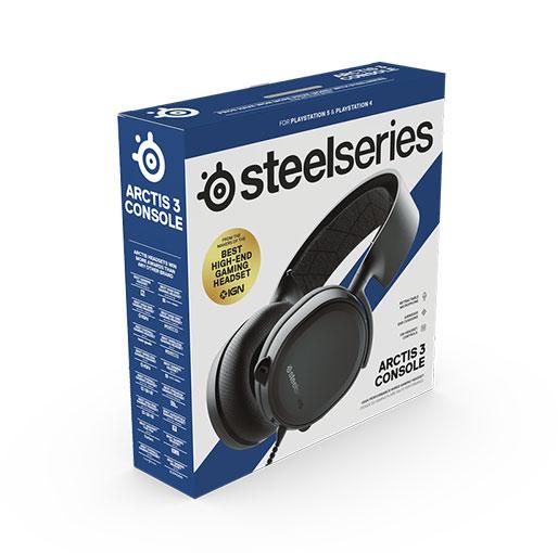 Steel Series Arctis 3 HS-00010 Gaming Headphone - Black