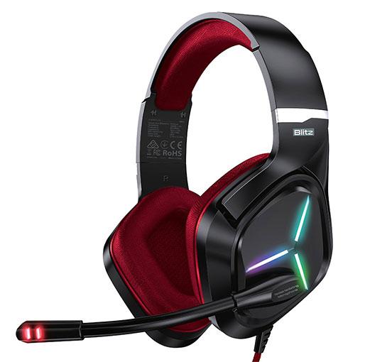 Buy Vertux Blitz 7.1 Surround Sound Gaming Headphone -Red at best price in Qatar.