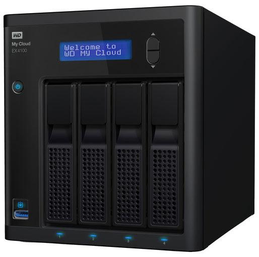 Buy WD My Cloud Expert Series 32TB EX4100 4-Bay NAS Server (4 x 8TB) at best price in Qatar.