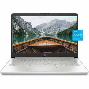 Buy HP 14 Laptop, 11th Gen Intel Core i3-1115G4, 4 GB RAM, 256 GB SSD Storage, 14-inch Full HD Display, Windows 10 in S Mode at best price in Qatar.