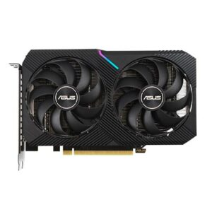 Buy ASUS Dual GeForce RTX™ 3060 OC Edition 12GB GDDR6 with two powerful Axial-tech fans and a 2-slot design for broad compatibility at best price in Qatar.