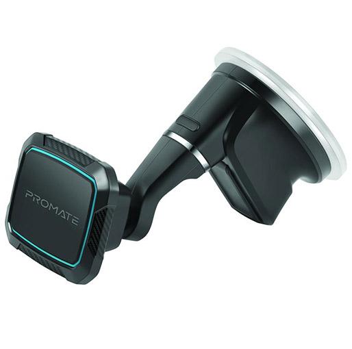 Buy Promate MagMount-5 Anti-Slip Cradle Free Magnetic Car Mount at best price in Qatar.