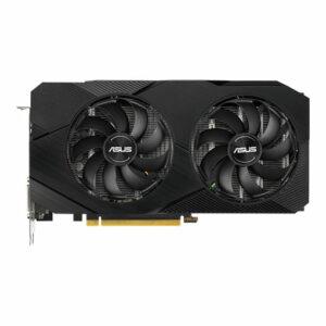 ASUS GeForce GTX 1660 SUPER Dual Advanced Evo Graphic Card, DUAL-GTX1660S-A6G-EVO, 6GB GDDR6, DVI, HDMI, DP