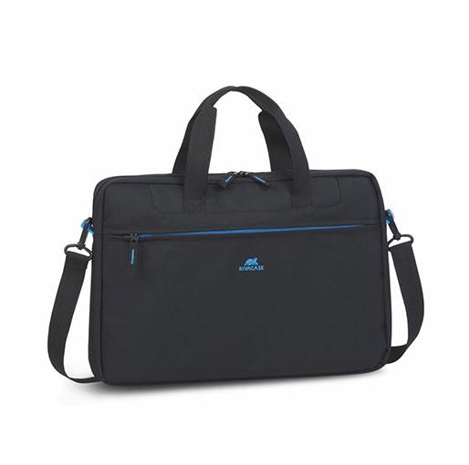 """RivaCase Regent 8037 Laptop Bag 15.6"""" Inches - Black"""