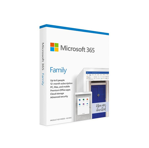 Buy Microsoft Office 365 Family at best price in Qatar.