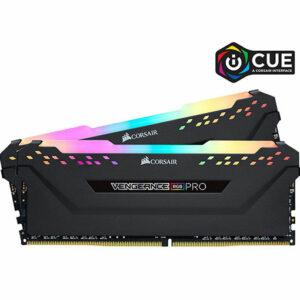 CORSAIR Vengeance RGB Pro 16GB (2 x 8GB) 288-Pin DDR4 DRAM DDR4 3600 (PC4 28800) Desktop Memory