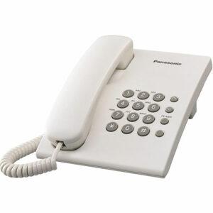 Panasonic Corded Telephone KX-TS500 - White