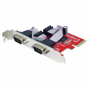 UNITEK 2 Port RS-232 PCI Express Card, Y-7504