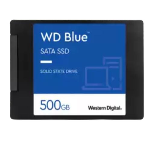 Buy Western Digital WDS500G2B0A WD Blue 3D NAND Internal SSD 2.5 Inch SATA, 500 GB at best price in Qatar.