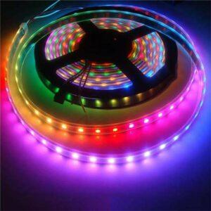 Buy MODI IR Remote RGB LED Strip 5M LED Bulb 4W,350Lm at best price in Qatar.