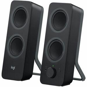 BuyLogitech Z207 2.0 Multi Device Stereo Speaker - Black at best price in Qatar.