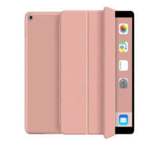Buy Green Premium Leather iPad Case For Apple iPad 2019 - Pink at best pricec in Qatar.
