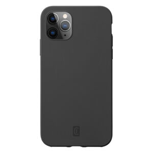 Buy Cellularline Sensation - iPhone 12 Pro Max Soft-touch silicone case - Black at best price in Qatar.