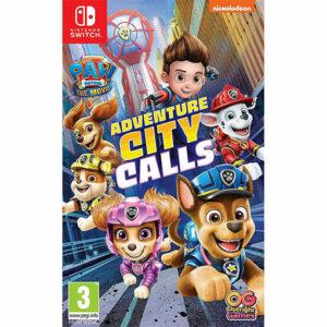 Nintendo Paw Patrol Adventure City Calls Switch