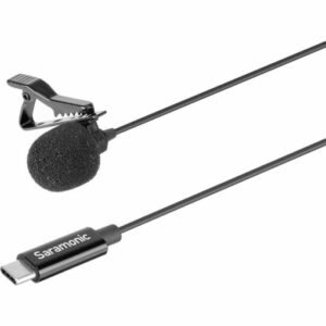 Saramonic LavMicro U3A Omnidirectional Lavalier Microphone with USB Type-C Connector for Android Devices -6.5' Cable