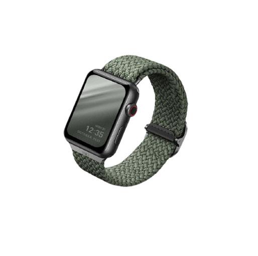 UNIQ Aspen Braided Band for Apple Watch Series ( 42mm / 44mm ) Strap - Green