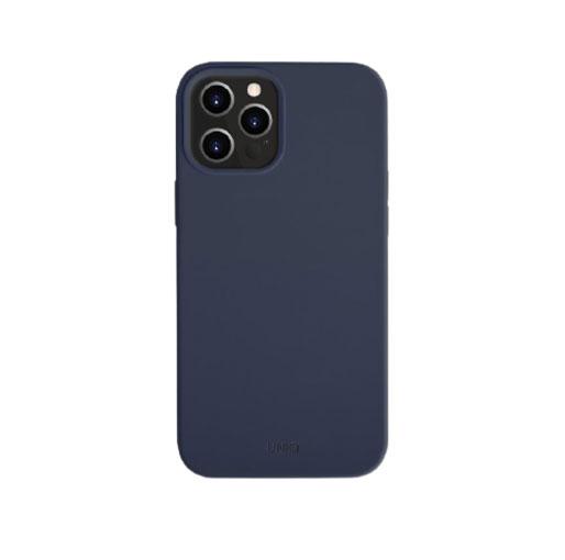 UNIQ iPhone 12 Pro Max Lino Hue Anti-Microbial Case - Marine Blue