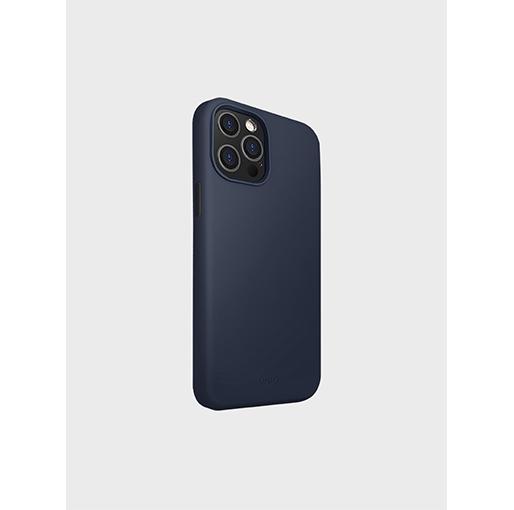 Buy Uniq Lino Hue iPhone 12 Pro Case - Marine Blue at best price in Qatar.