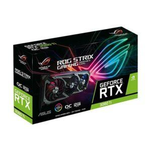 Buy ASUS ROG Strix GeForce RTX 3080 Ti OC Edition Gaming Graphics Card (PCIe 4.0, 12GB GDDR6X, HDMI 2.1, DisplayPort 1.4a, Axial-tech Fan Design, 2.9-slot, Super Alloy Power II, GPU Tweak II), ROG-STRIX-RTX3080TI-O12G-GAMING at best price in Qatar.