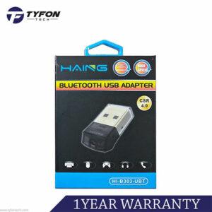 Buy Haing Bluetooth USB Adapter Receiver 4.0 (HI-B303-UBT) at best price in Qatar.
