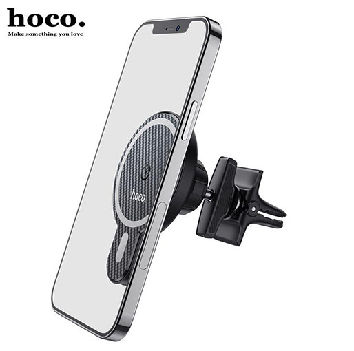 Buy HOCO CA85 Ultra-fast Wireless Charging Car Holder at best price in Qatar.