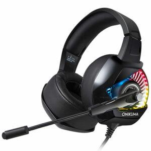 Onikuma K6 Gaming Headset with RGB Light