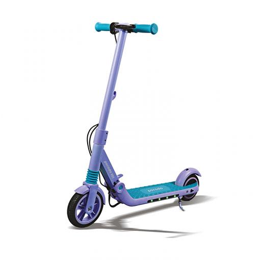 Porodo Electric Kids Scooter with Helmet 200W – Blue