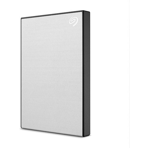 Seagate 2TB One Touch USB 3.2 Gen 1 External Hard Drive - Silver
