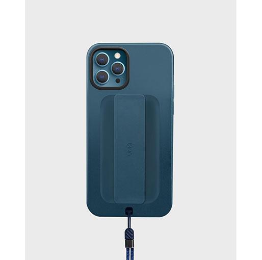 Uniq Heldro iPhone 12 Pro Max Antimicrobial Case - Blue