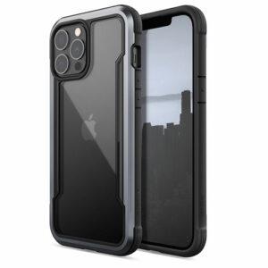 X-doria Raptic Shield Pro iPhone 13 Pro Max (6.7) Anti Bacterial Case- Black