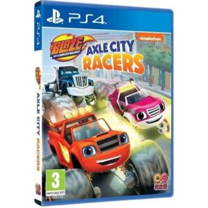 Buy Blaze and the Monster Machines: Axle City Racers - PS4 at best price in Qatar.